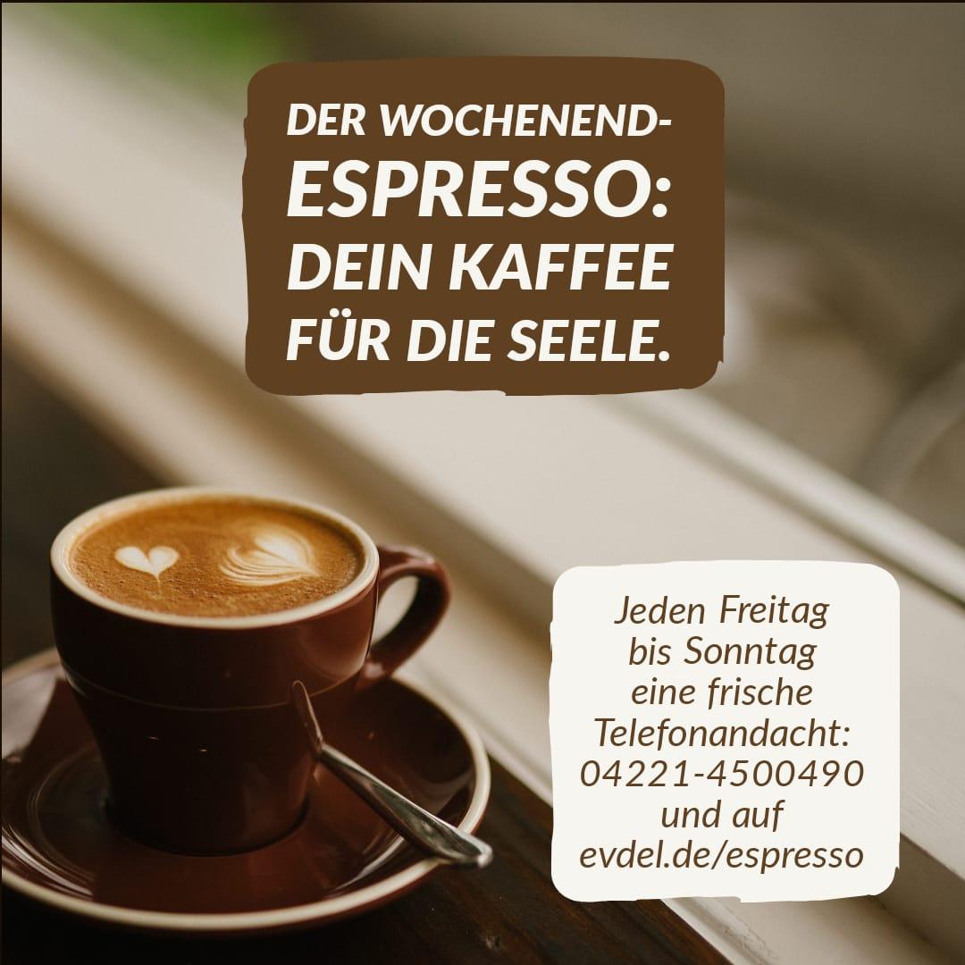 Unser Telefon-Espresso geht in die Sommerpause